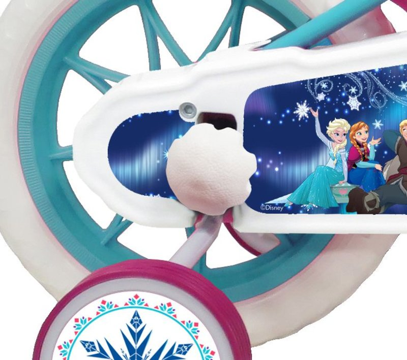 DISNEY FROZEN 2 ELSA AND ANNA, BICI CITY 12