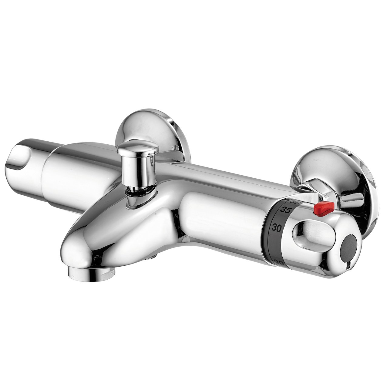 Thermostatic bath mixer