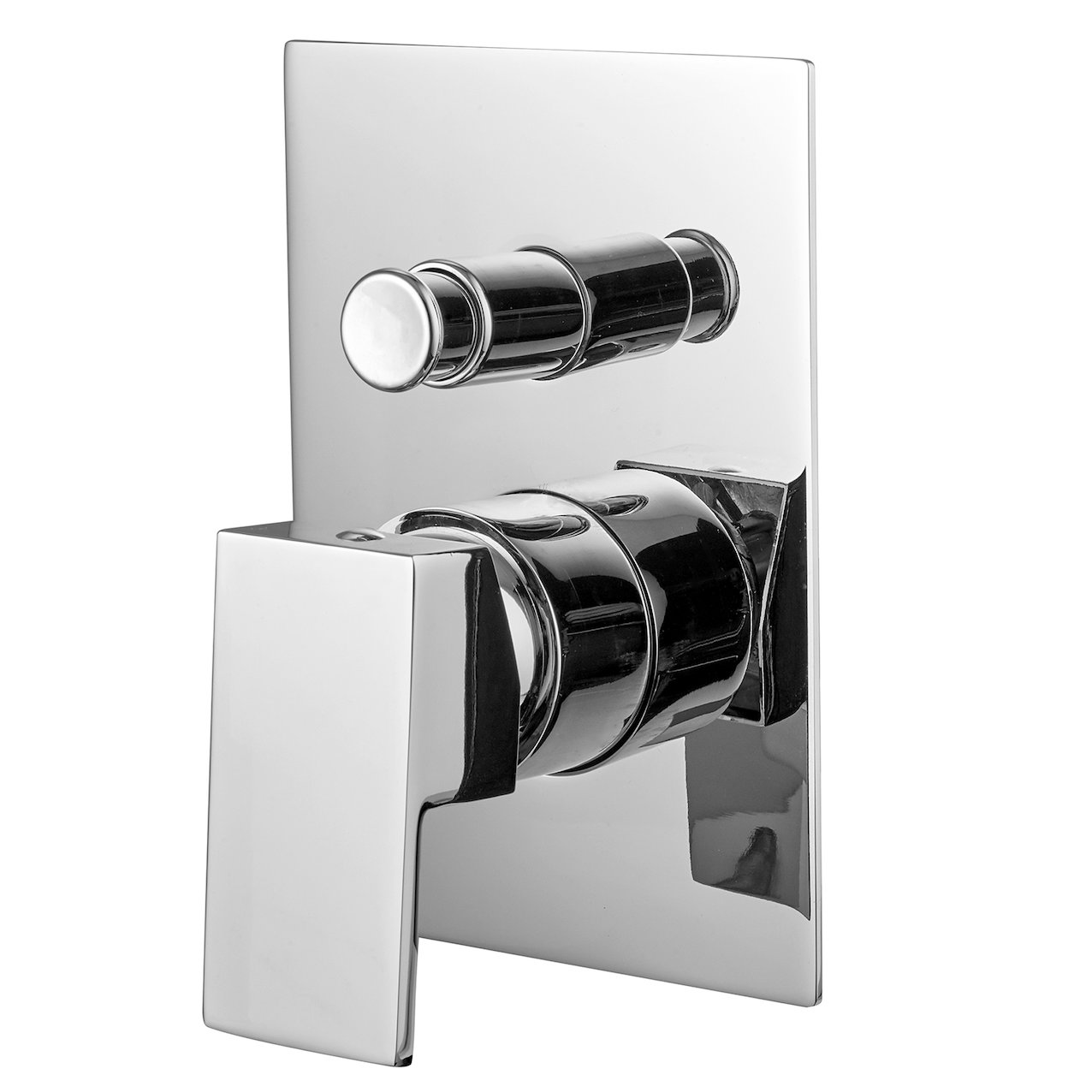 Built-in shower mixer 2 ways Quadra