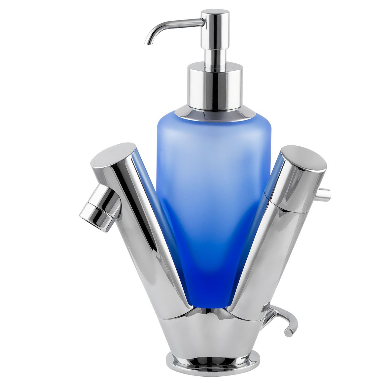 Washbasin Mixer Voyager with Soap-Dispenser