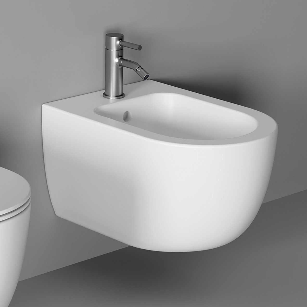 Bidet UNICA 50 wall hung