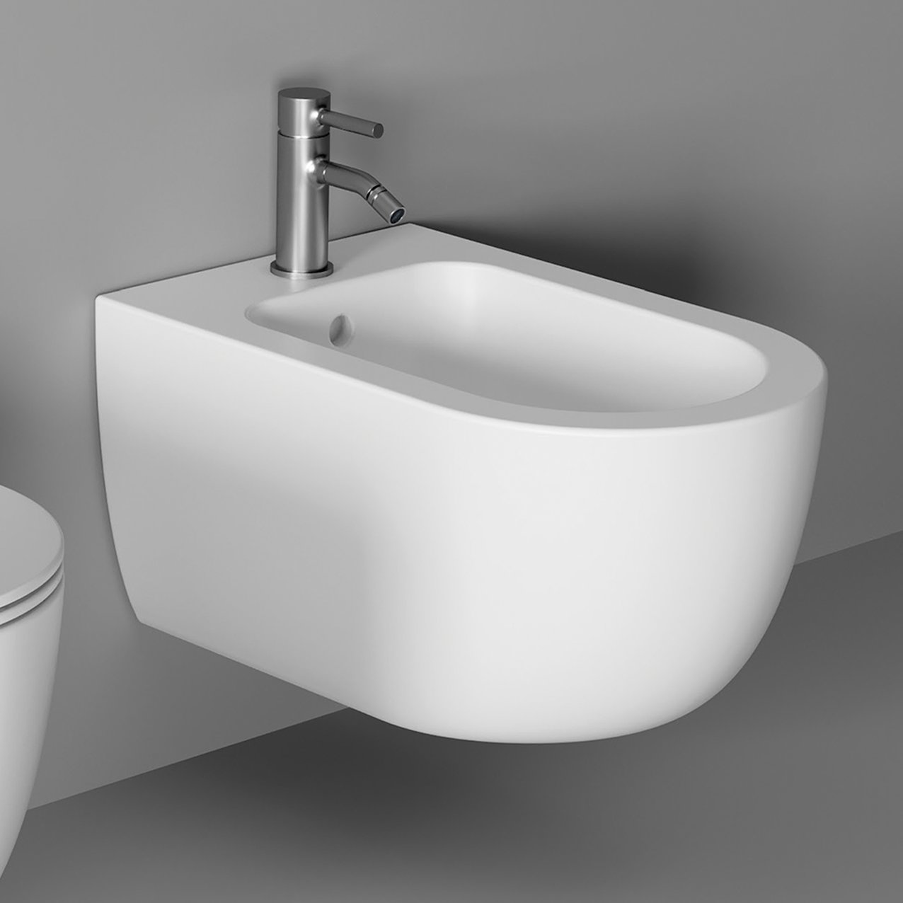 Bidet UNICA 55 wall hung