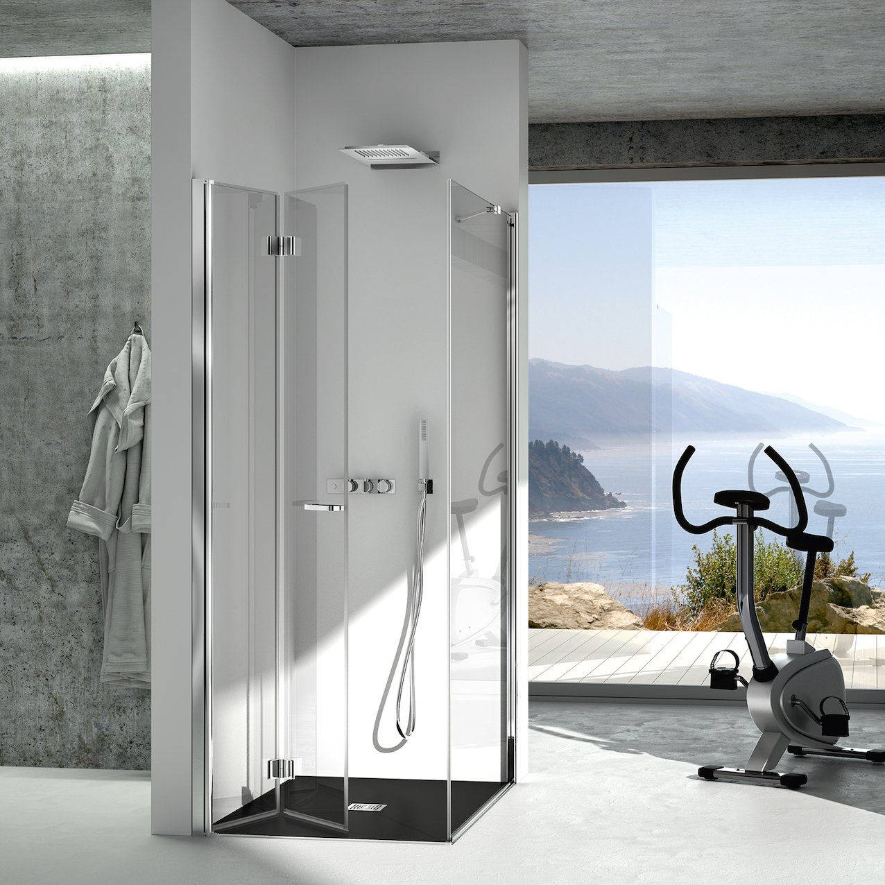 Folding Shower Enclosure Lisbon