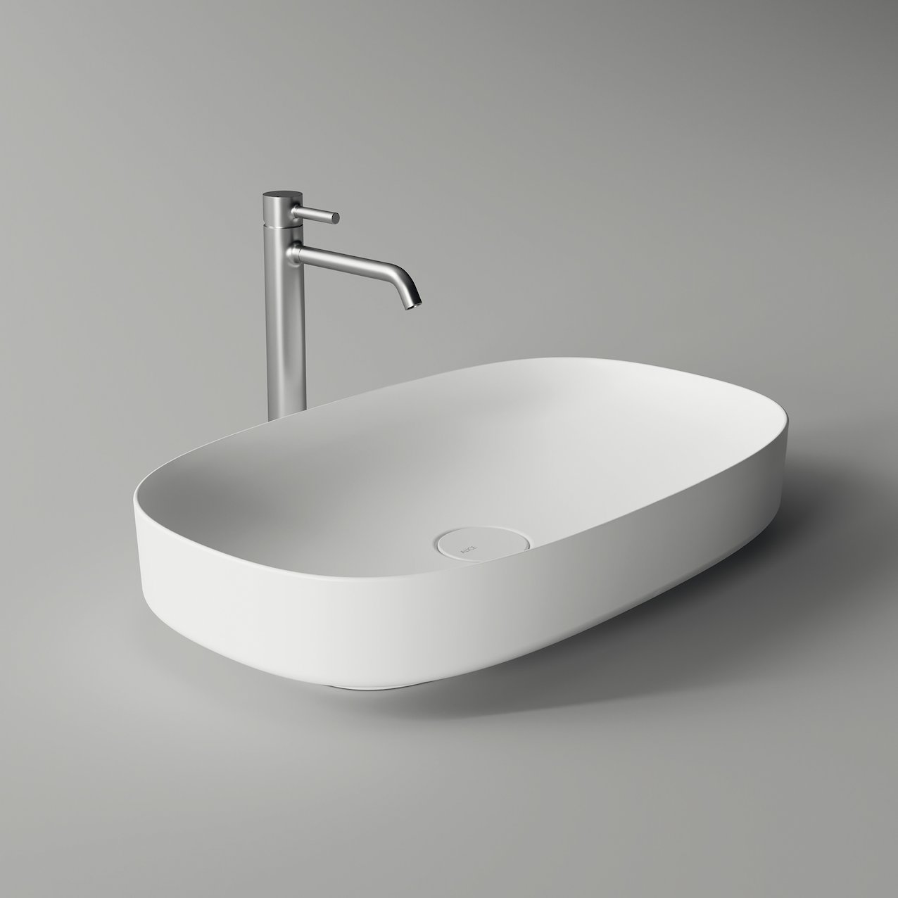 Oval washbasin FORM
