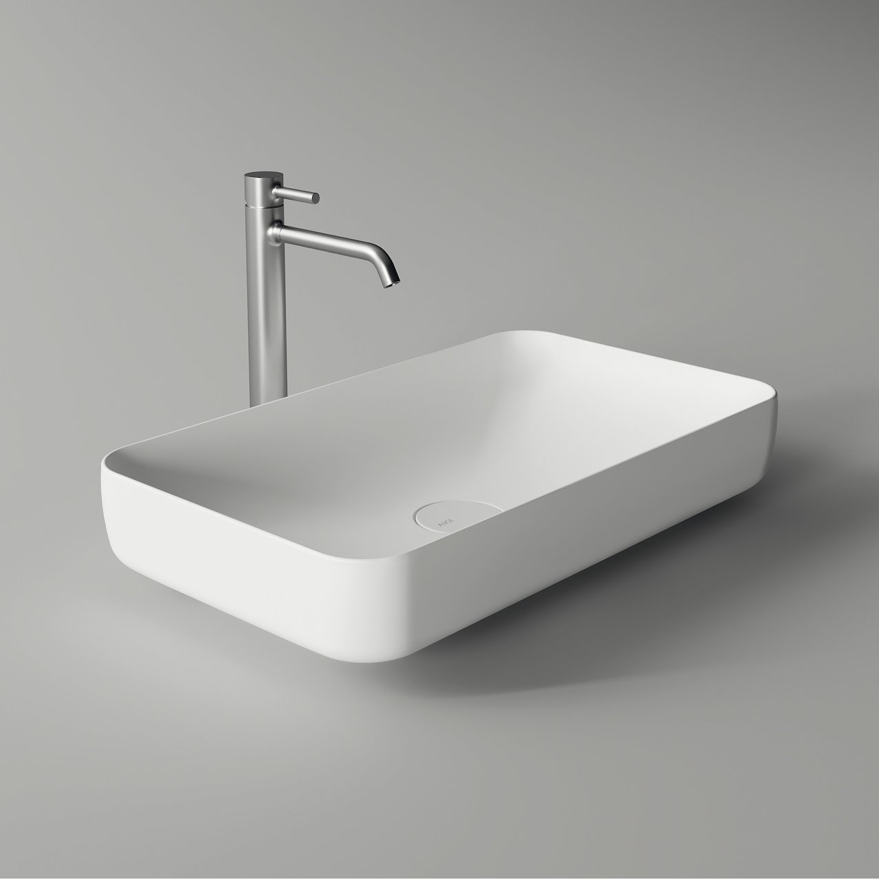 Rectangular washbasin FORM