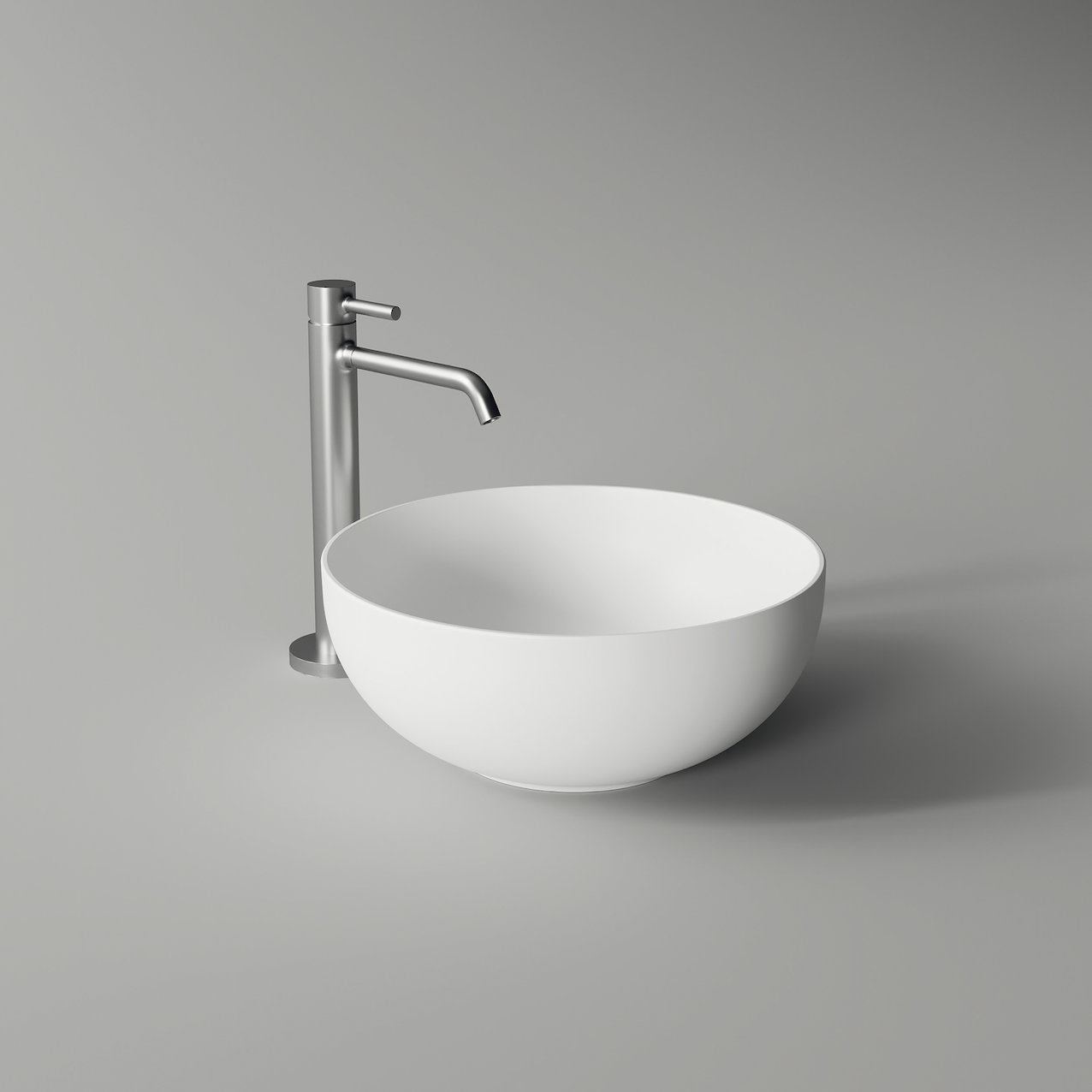 Round washbasin FORM