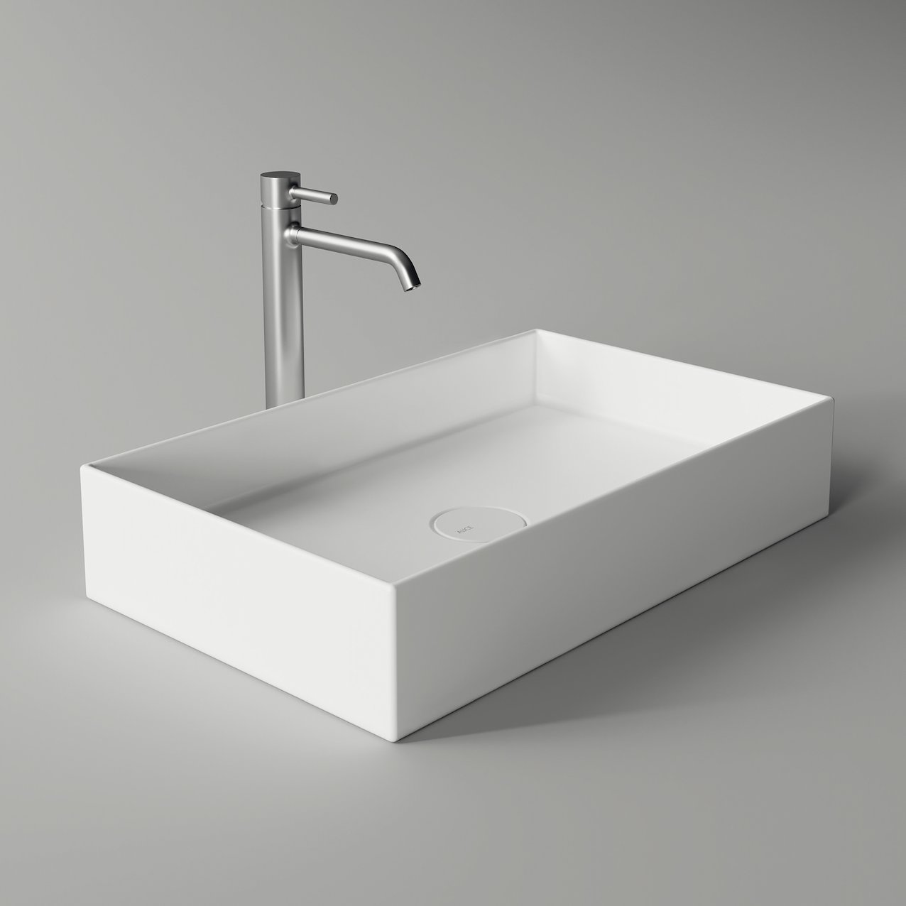 Washbasin HIDE rectangular minimal 60