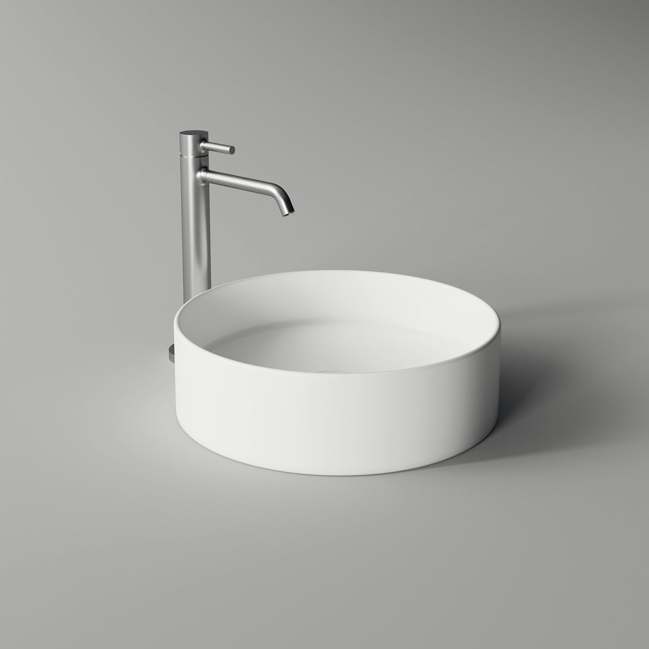 Washbasin HIDE round minimal