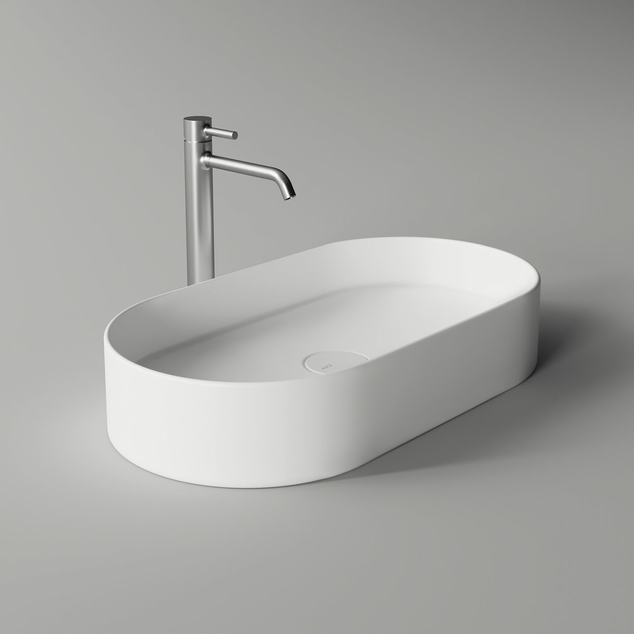 Washbasin HIDE oval minimal