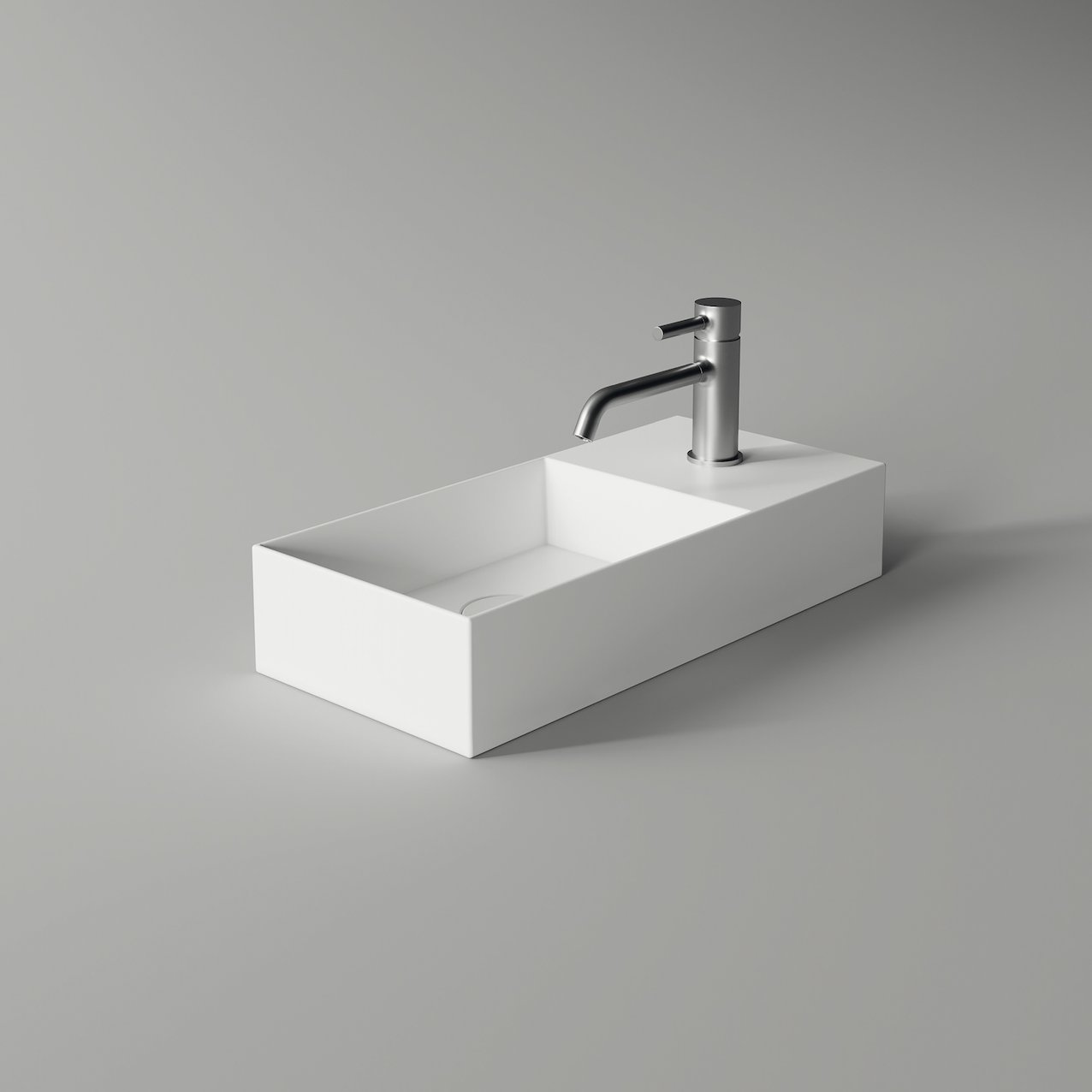 Washbasin SPY rectangular slim 55