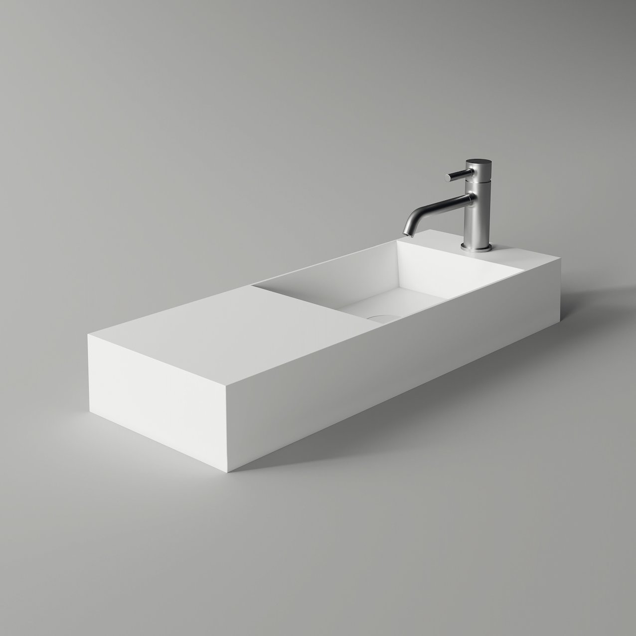 Washbasin SPY rectangular slim 75