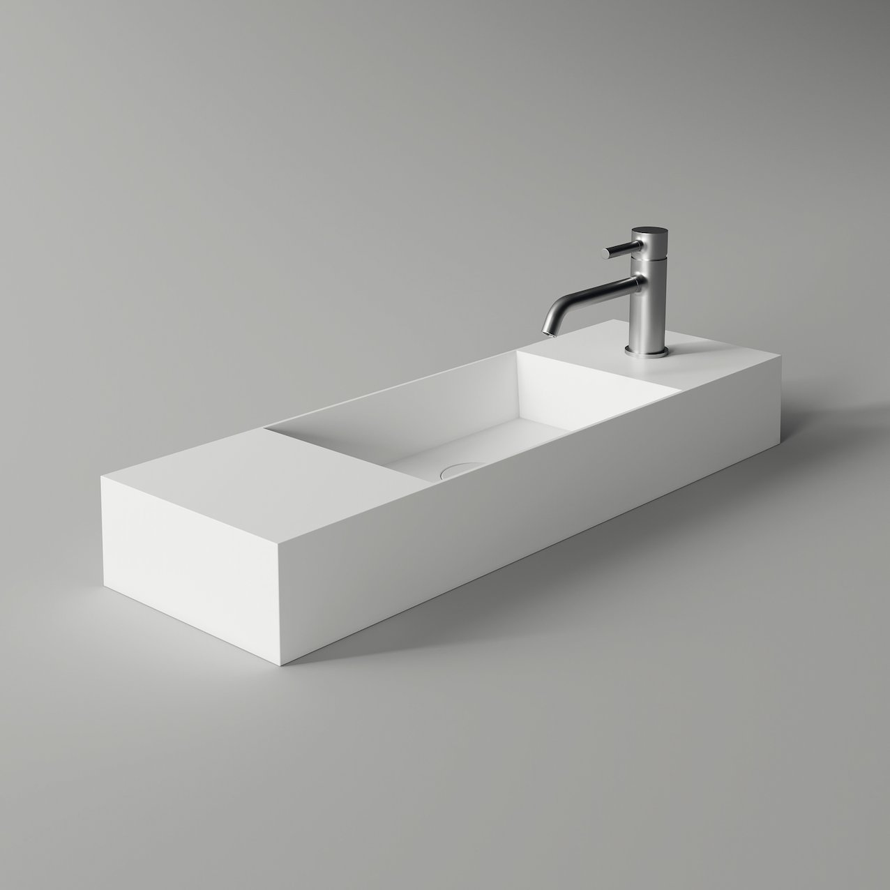 Washbasin SPY rectangular slim 80