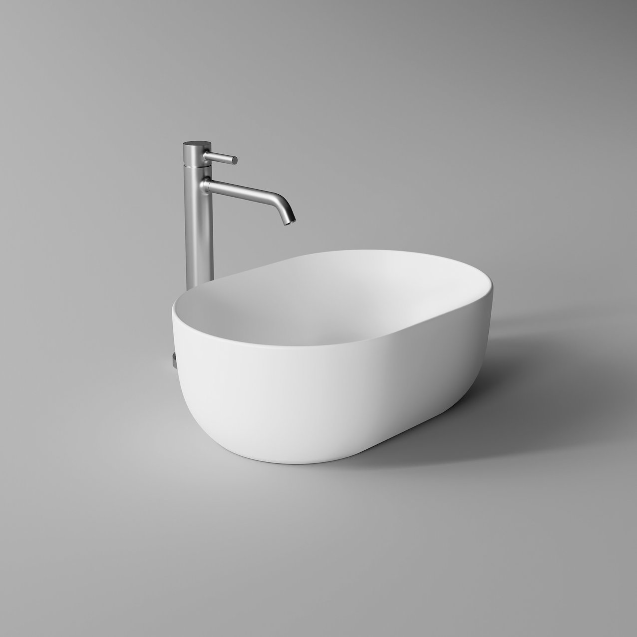 Washbasin UNICA oval 45