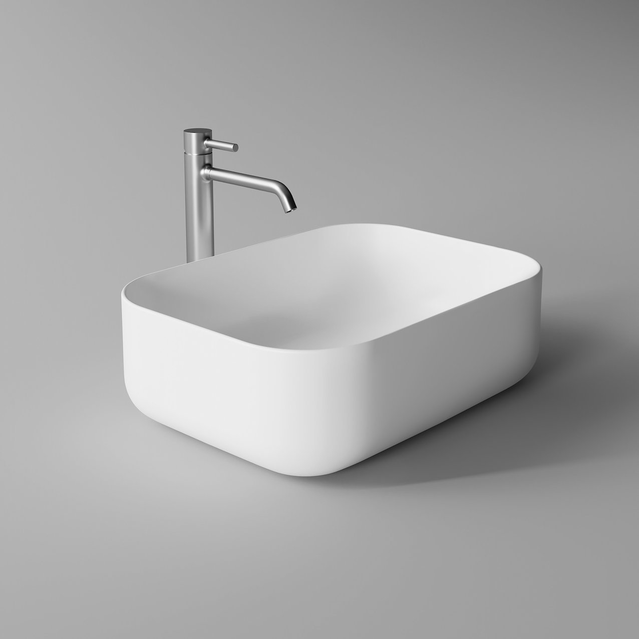 Washbasin UNICA rectangular
