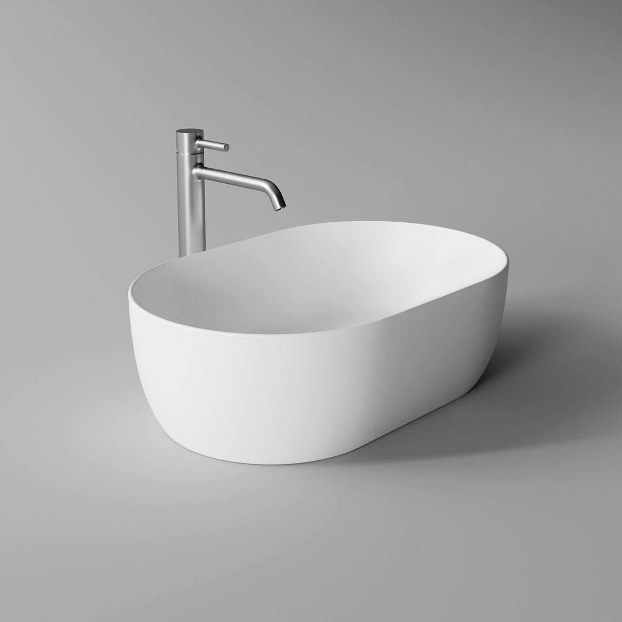 Washbasin UNICA oval 55