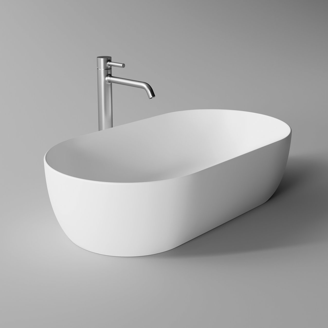 Washbasin UNICA oval 70