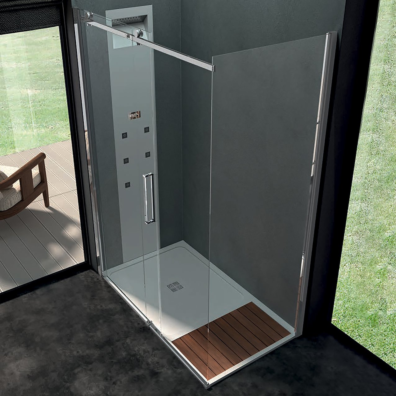 Sliding Shower Enclosure Lofoi