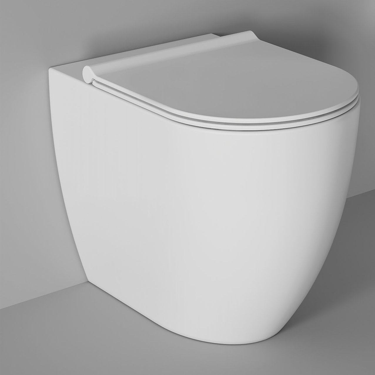 Adjustable WC Form back to wall