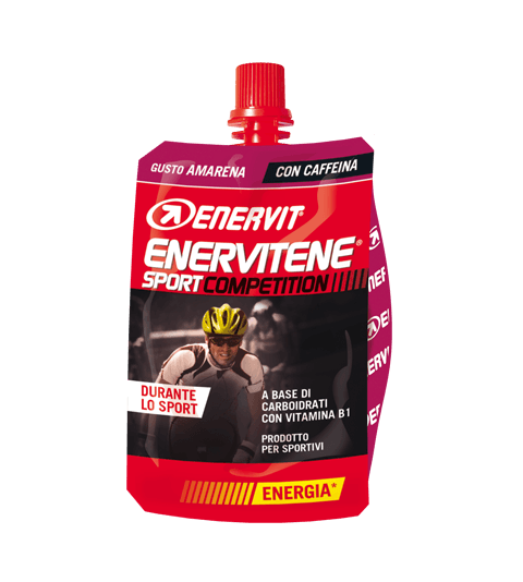 ENERVITENE SPORT COMPETITION AMARENA - Black cherry