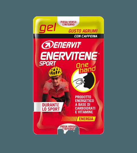 ENERVITENE SPORT GEL ONE HAND CON CAFFEINA - AGRUMI