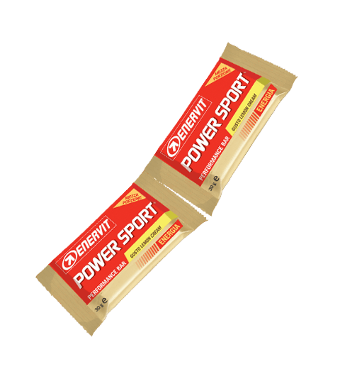 ENERVIT POWER SPORT DOUBLE LEMON CREAM - Lemon Cream