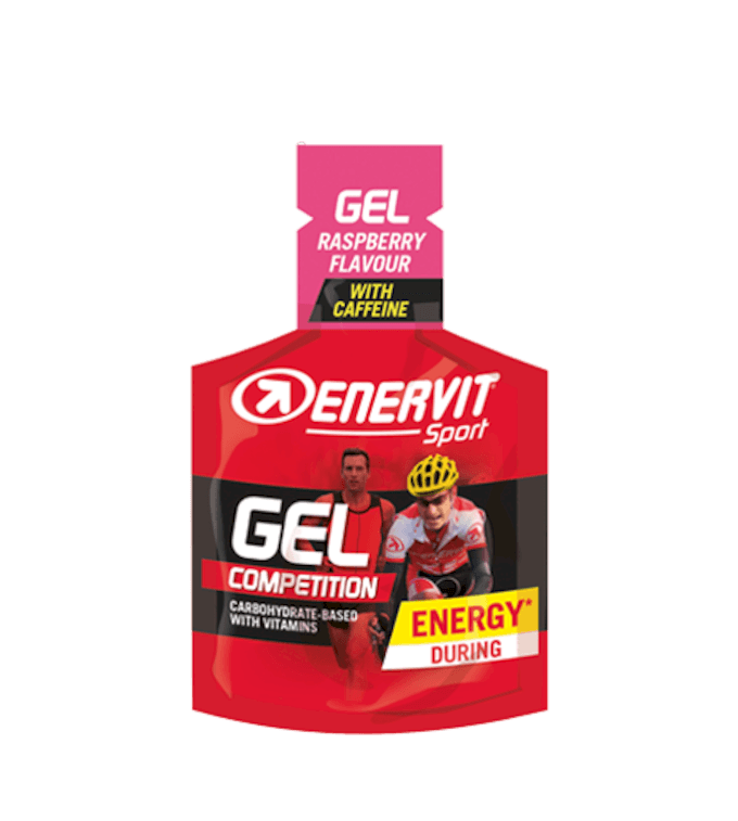 SPORT GEL RASPBERRY - With Caffeine
