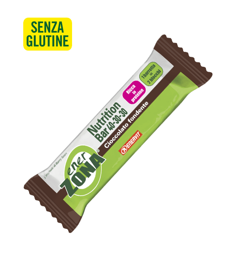 ENERZONA NUTRITION BAR 40-30-30 CIOCCOLATO FONDENTE