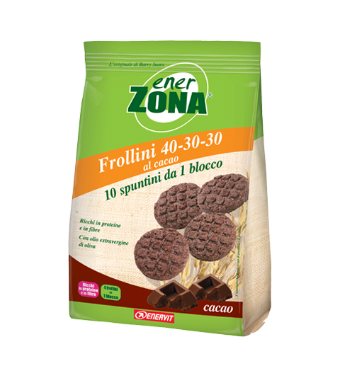 ENERZONA FROLLINI 40-30-30 CACAO - Cacao