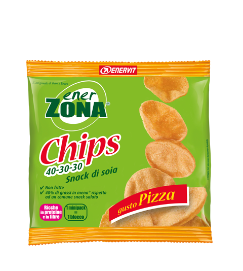 ENERZONA CHIPS 40-30-30 GUSTO PIZZA