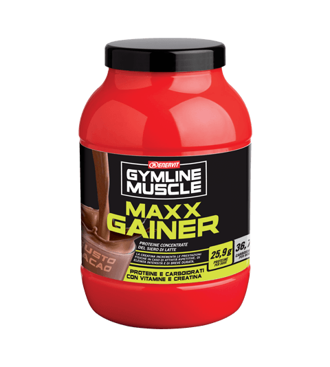 ENERVIT GYMLINE MUSCLE MAXX GAINER - Cacao