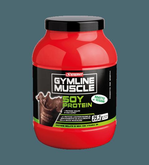 ENERVIT GYMLINE MUSCLE SOY PROTEIN PANNA CIOCCOLATO FONDENTE