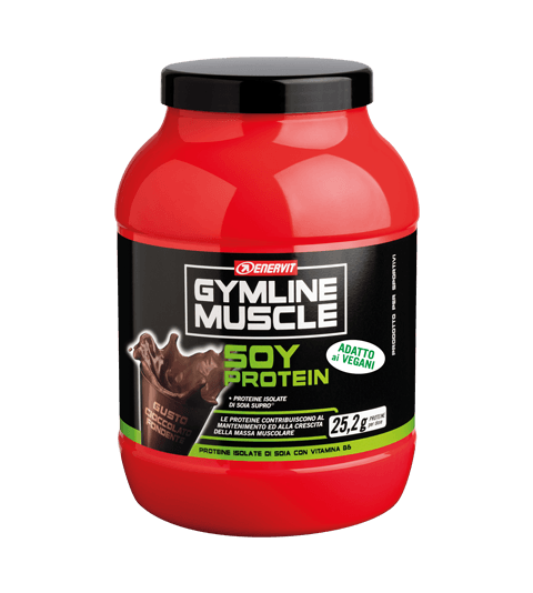 ENERVIT GYMLINE MUSCLE SOY PROTEIN PANNA CIOCCOLATO FONDENTE