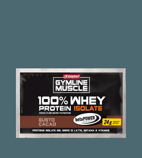 ENERVIT GYMLINE MUSCLE 100% WHEY PROTEIN ISOLATE + BETAINA