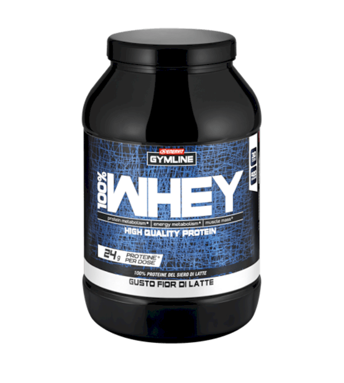 GYMLINE 100% WHEY PROTEIN CONCENTRATE FIOR DI LATTE