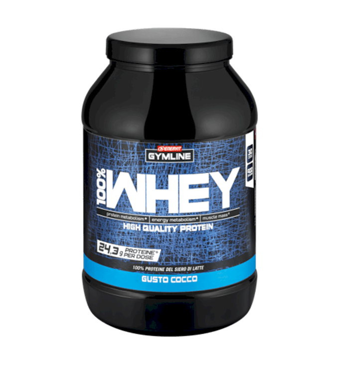 GYMLINE 100% WHEY PROTEIN CONCENTRATE COCCO