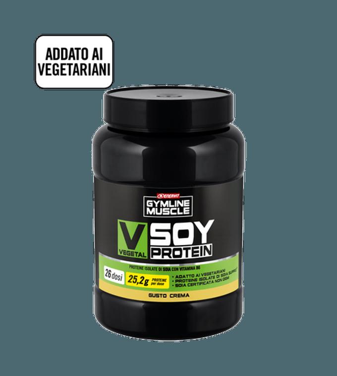 ENERVIT GYMLINE MUSCLE VEGETAL SOY PROTEIN CREMA