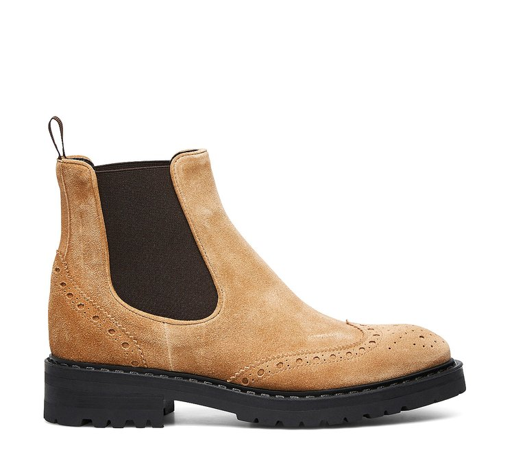 Barracuda calfskin Beatle boots