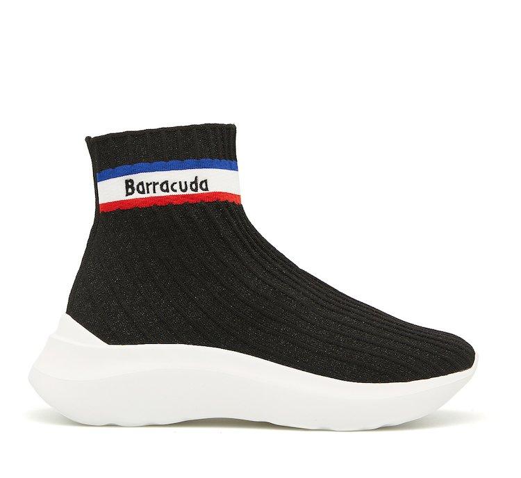 Sneaker Barracuda in tessuto stretch