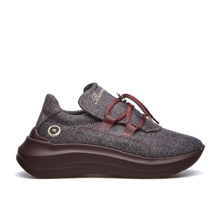 Barracuda breathable/dry sneakers by Reda Active Merino Wool