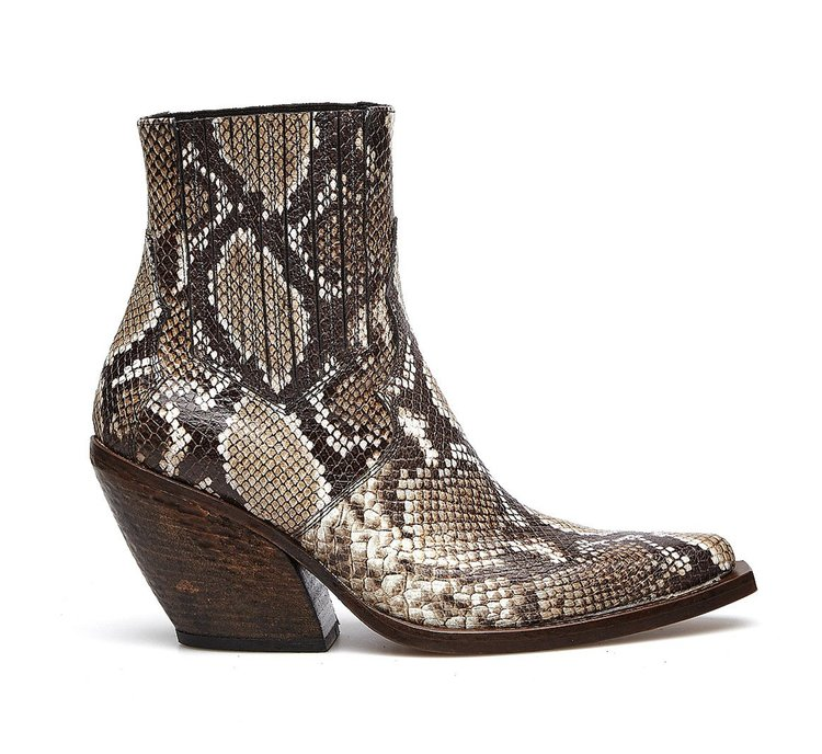 Barracuda cowboy boots in exquisite calfskin