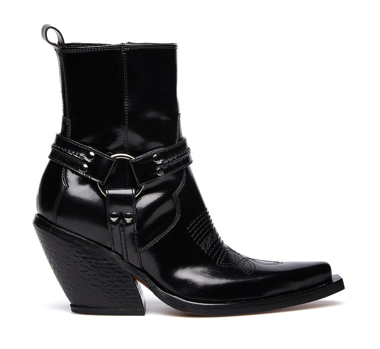 Barracuda cowboy boots in ultra-soft calfskin
