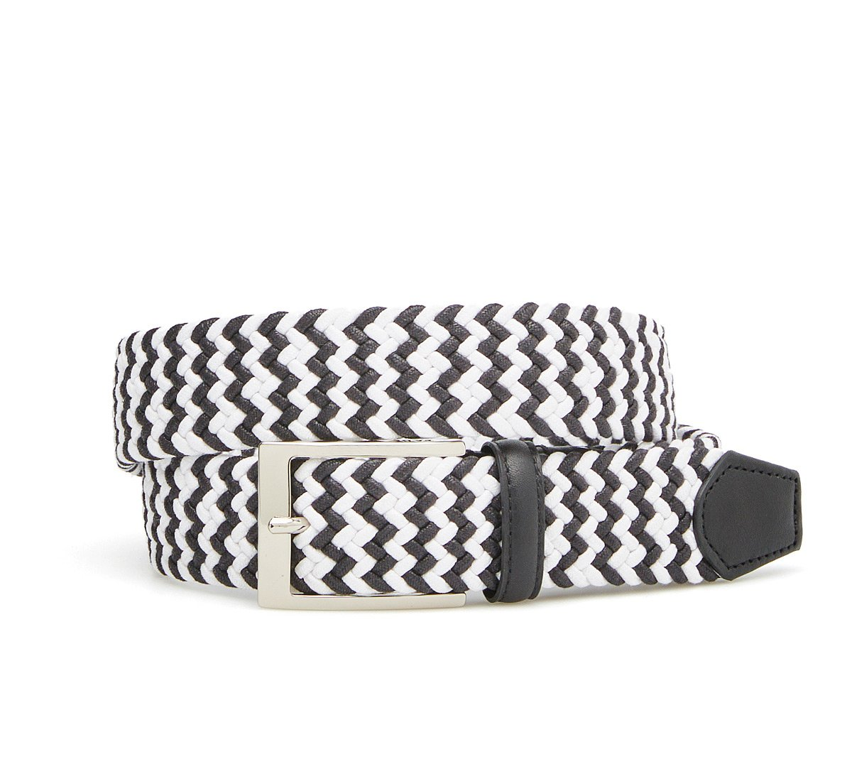 Two-tone cotton belt