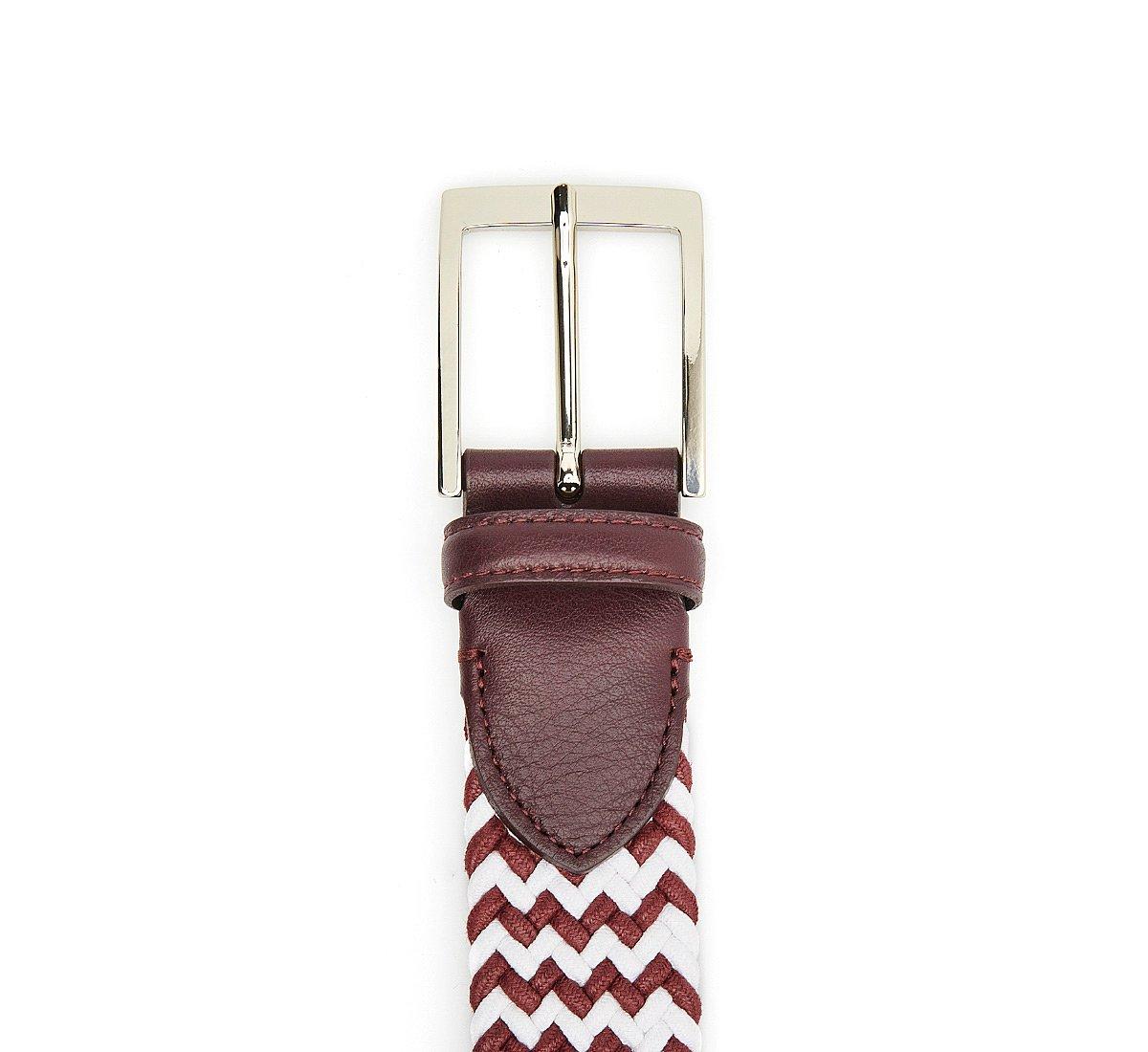 Two-tone cotton belt