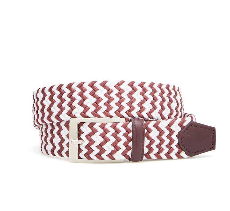 Cintura in cotone bi-colore