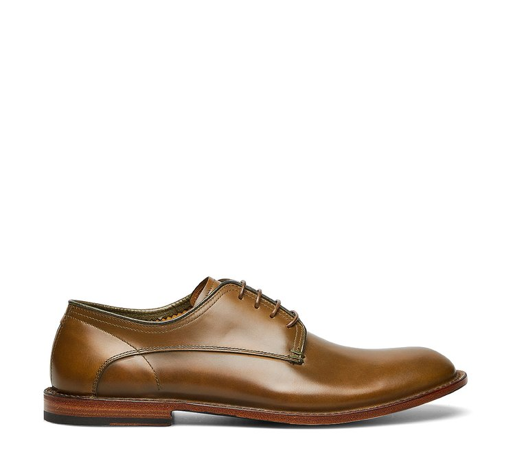 Barracuda calfskin lace-ups