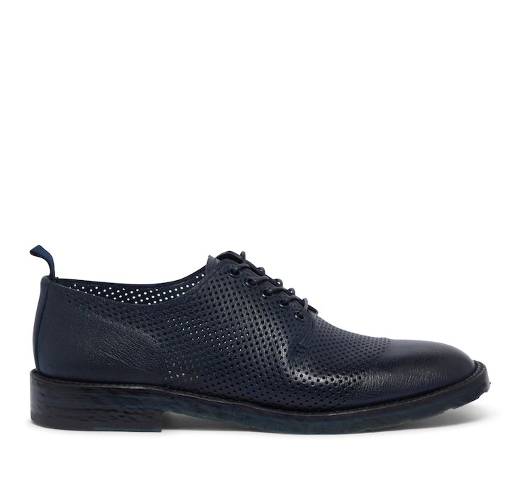 Barracuda lace up shoes in calfskin