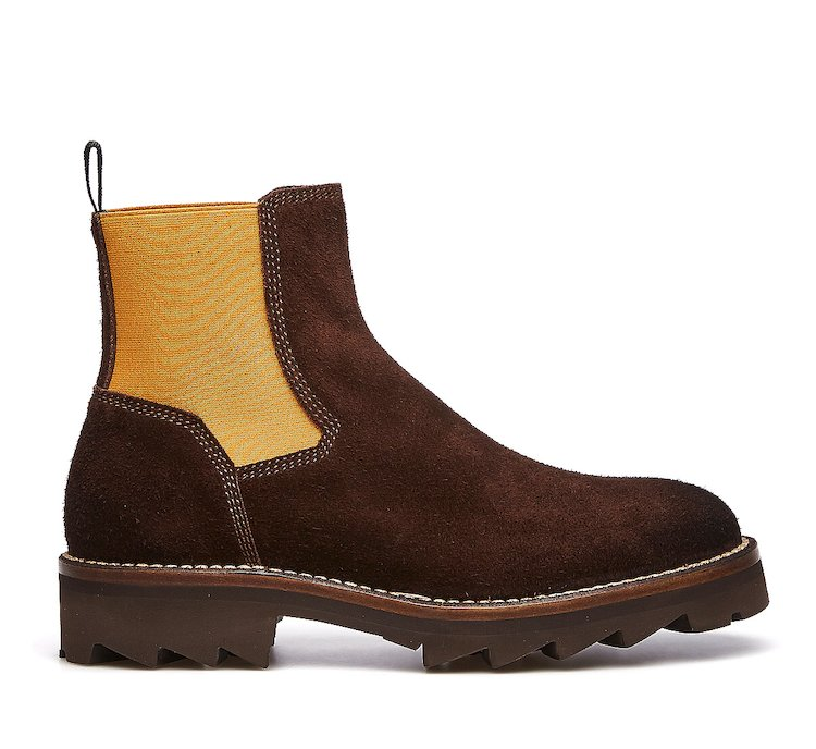 Barracuda Beatle Boots in suede leather
