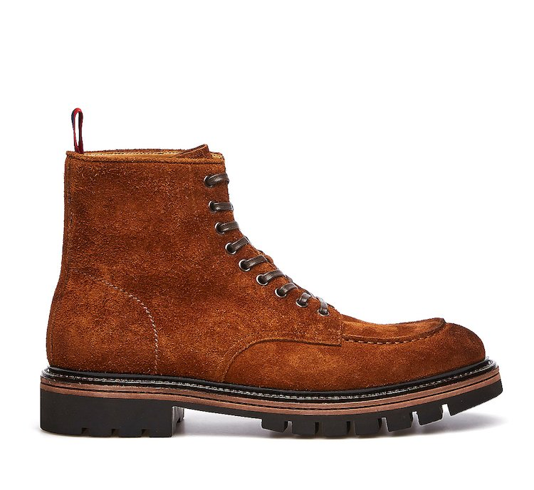 Beatle boots in calf leather