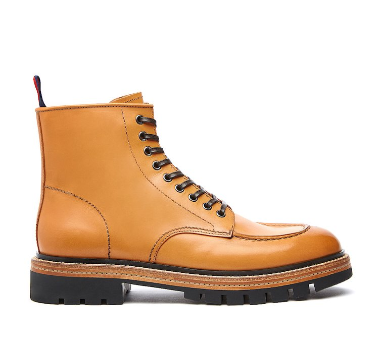 Barracuda Beatle boot in calf leather