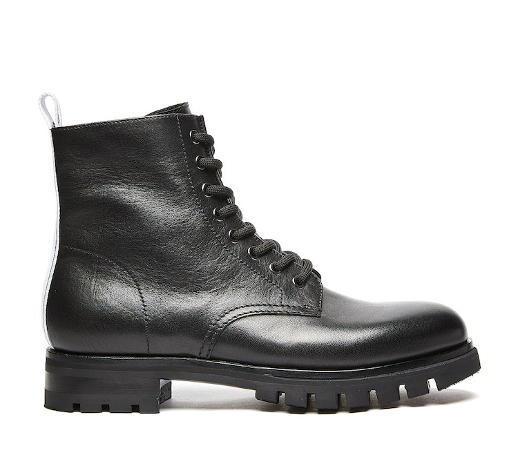 Barracuda commando boot in luxury calf leather